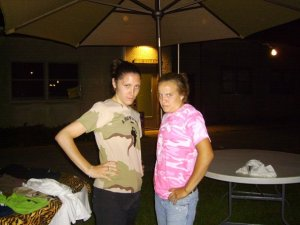 me and lynds 08