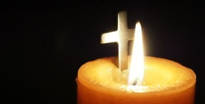 candle and Christ